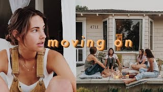 moving out vlog | the end of a chapter