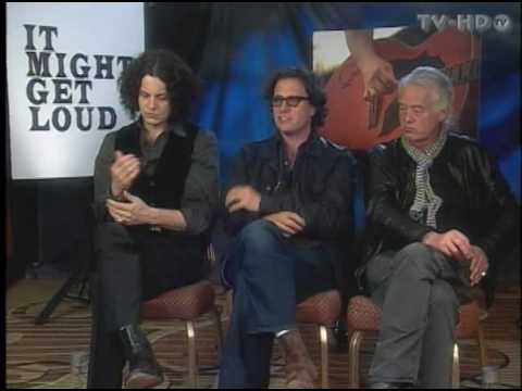 it might get loud jimmy page jack white 1 1 interviews youtube. Black Bedroom Furniture Sets. Home Design Ideas