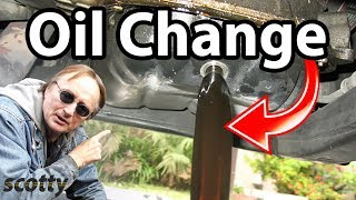 How To Change Oil Correctly On A Modern Car