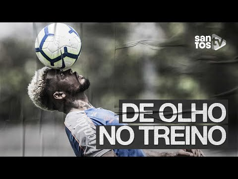 SANTOS FAZ ÚLTIMO TREINO ANTES DO CLÁSSICO | DE OLHO NO TREINO (25/10/19)