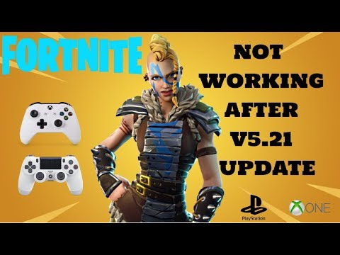 FORTNITE Not Working XBOX ONE PS4 FIX