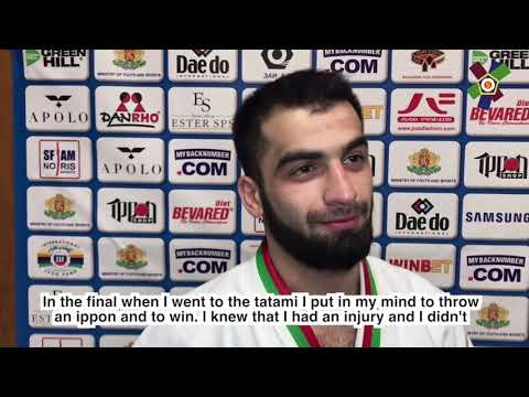 #JudoSofia2018 Interview with Ismail Chasygov (RUS)