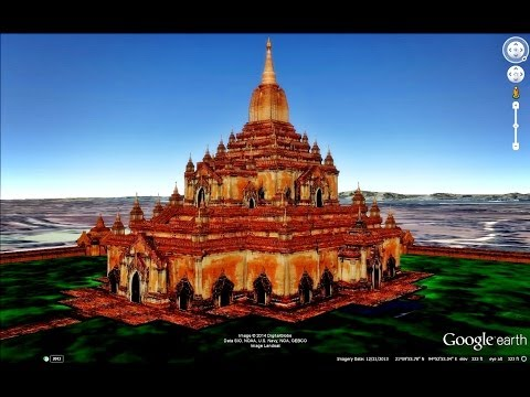 HISTORICAL PLACES OF MYANMAR (BURMA) IN GOOGLE EARTH