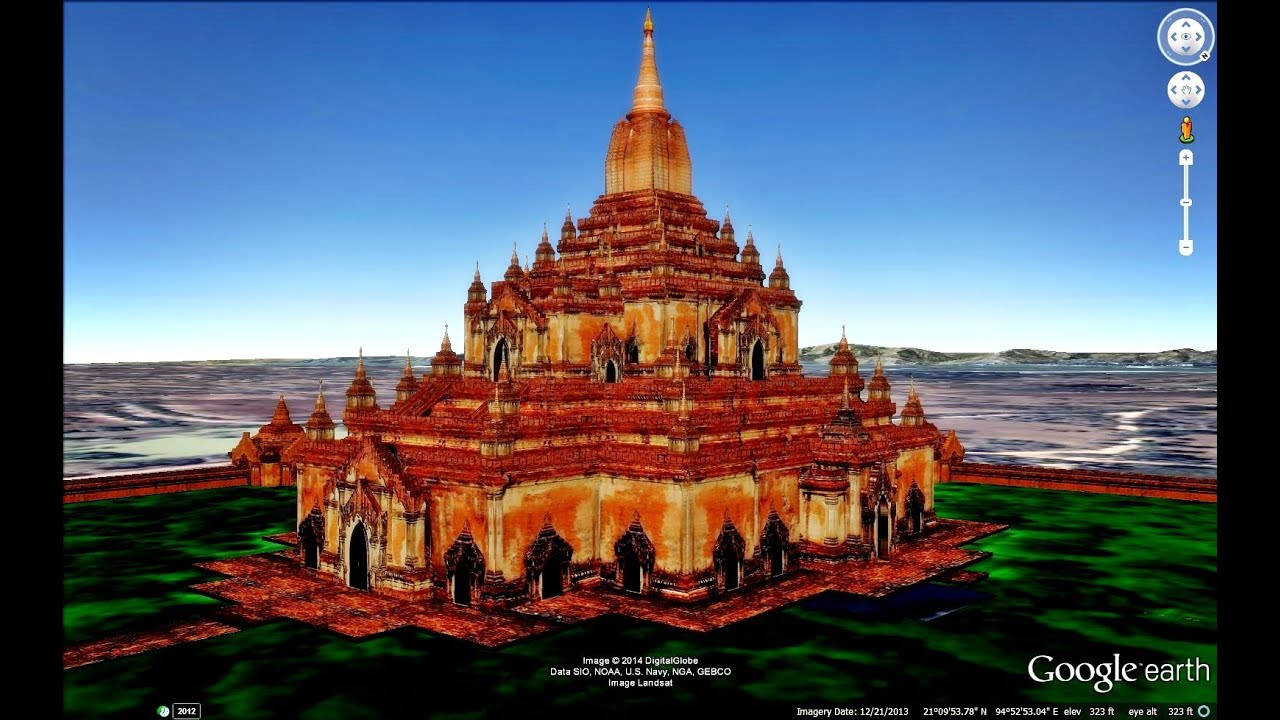 HISTORICAL PLACES OF MYANMAR BURMA IN GOOGLE EARTH YouTube