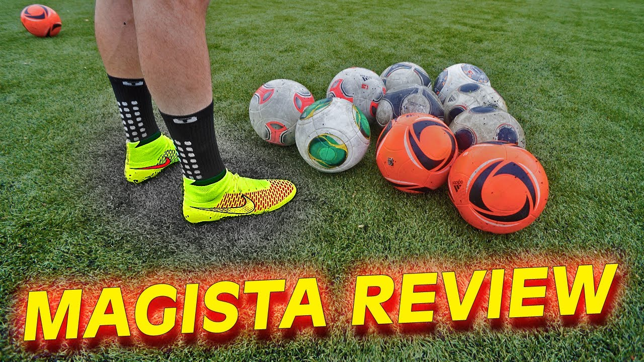 59f98333be9 Ultimate Nike Magista Test   Review by freekickerz - YouTube