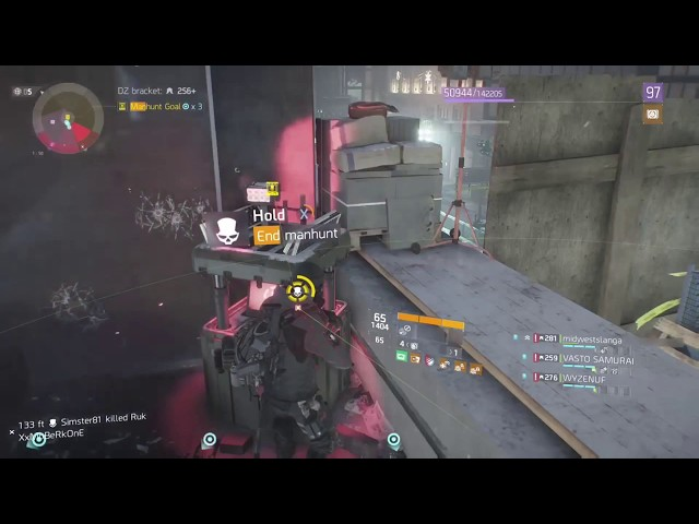 We ALMOST GOT AWAY WITH IT .!! The Division MANHUNTS