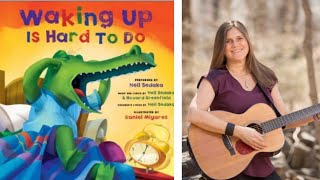 Waking up is hard to do - by Neil Sedaka and Howard Greenfield. Listen & Learn with Lizzie.