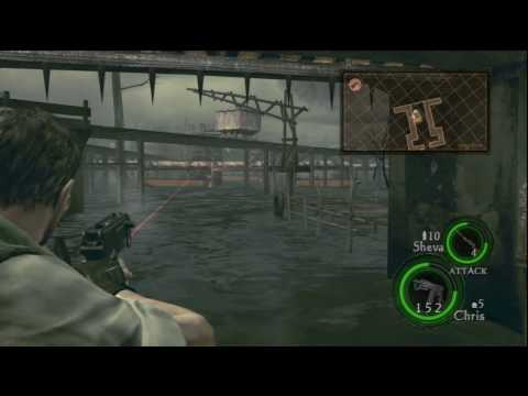 Resident Evil 5 HD Professional Chapter 3-3 Oil Field - Drilling Facility P19