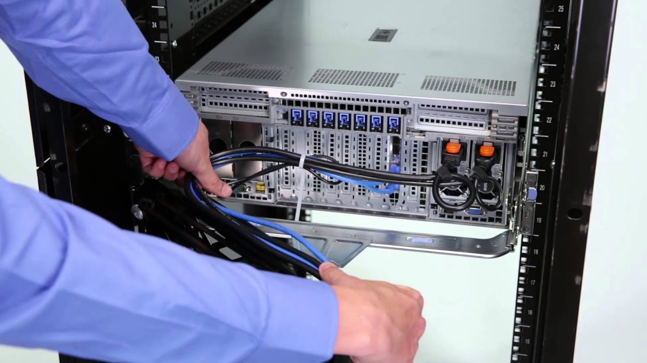 Dell Poweredge R930 Install Cable Management Arm Youtube
