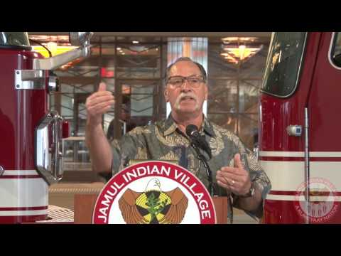 Jamul Indian Village - CAL Fire Press Conference 3-22-17