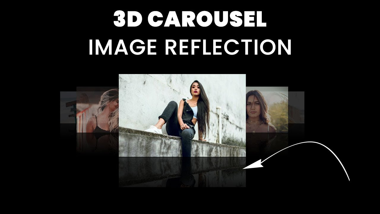 3D Image Slider with Image Reflection Effect | Materialize CSS