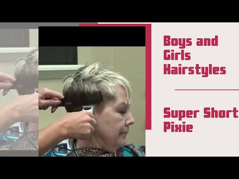 Pixie Haircut: Older Women Short Hairstyles 2019