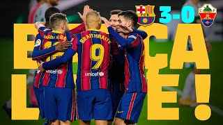 ⚽ BARÇA LIVE | BARÇA 3-0 ELCHE | Warm up & Match Center
