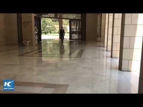 Footage of Bashar al-Assad released following U.S.-led airstrikes