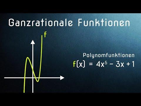 Ganzrationale Funktionen - Einführung / Grundlagen