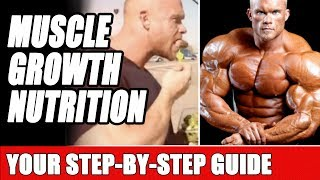 How To Set Up Your Diet for Optimal Muscle Growth - Macros, Calories & Cyclical Nutrition