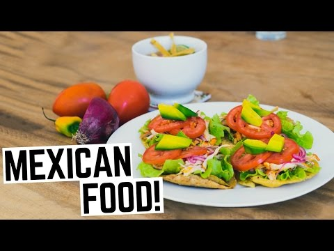 Mexican Food: Americans Try 3 Dishes Mexican Food