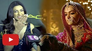 Sushmita Sen AWESOME Reaction On Padmaavat Supreme Court Verdict