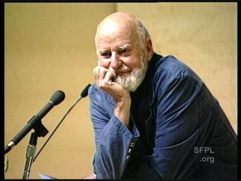 Lawrence Ferlinghetti at the San Francisco Public Library