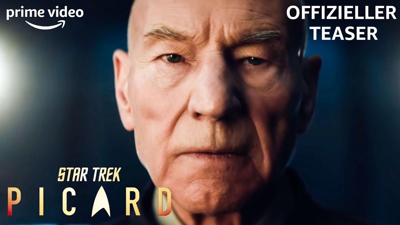 Trailer Zu Neuer Star Trek Serie Captain Jean Luc Picard Ist Zuruck