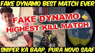 Fake Dynamo Sniping At His Best, Dynamo With Random Teammates, Dynamo Gaming Best Match Ever