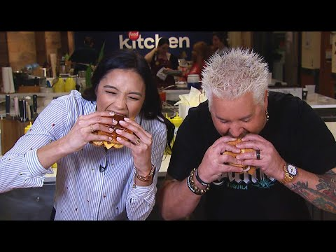Cooking FIRE Fried Chicken With Guy Fieri (Exclusive)