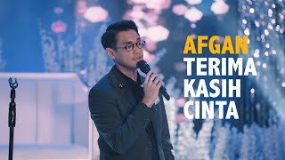 Download lagu AFGAN - TERIMA KASIH CINTA (LIVE AT WEDDING)