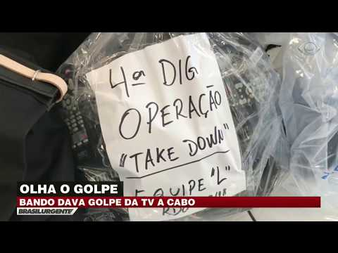 Bando Dá Golpe Da TV A Cabo