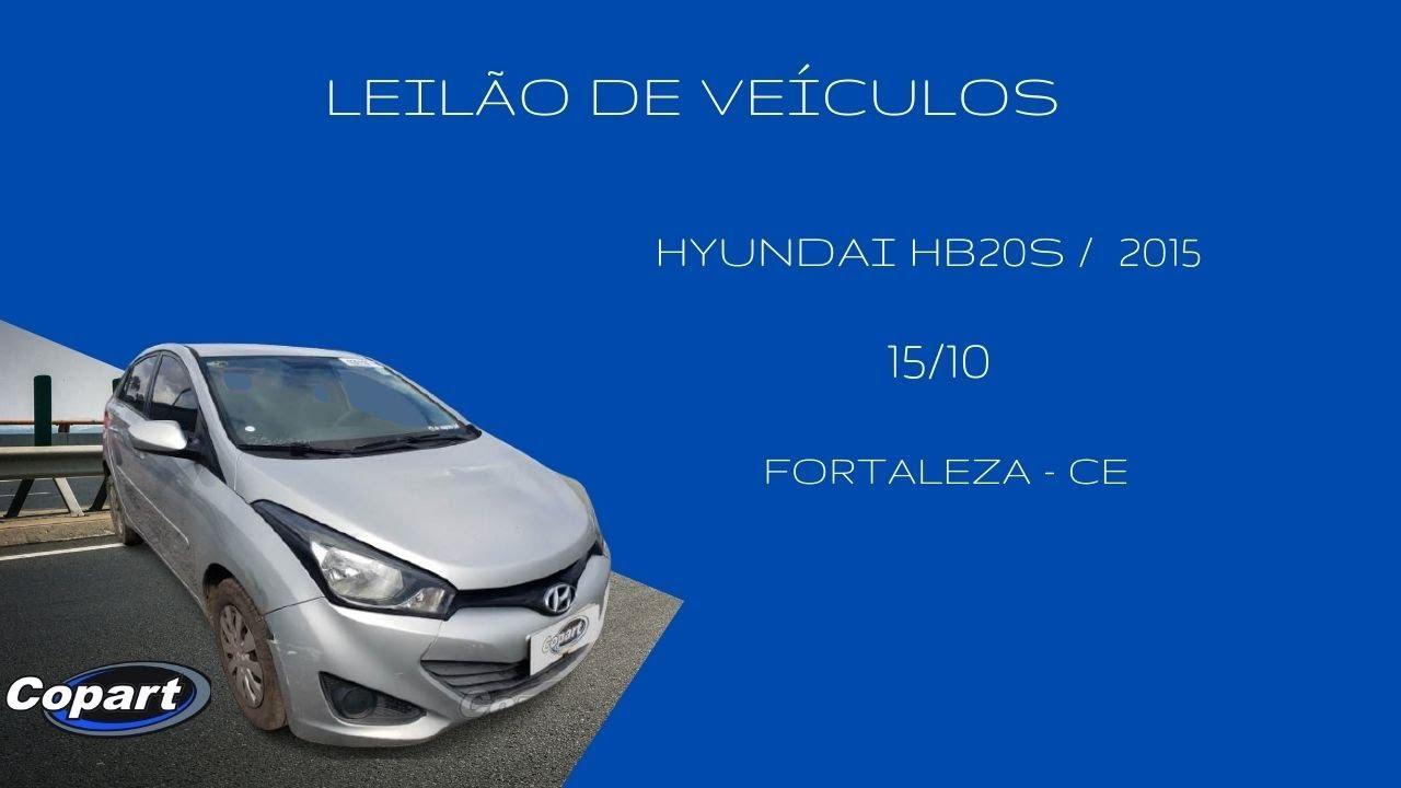 Download Leilão de Veículos Hyundai HB20s   -  Copart  - Fortaleza CE  15/10 - 14h00min