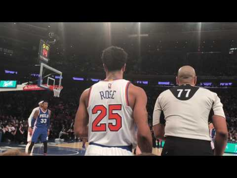 Vlog #4 Sitting Court Side At The Knick Game