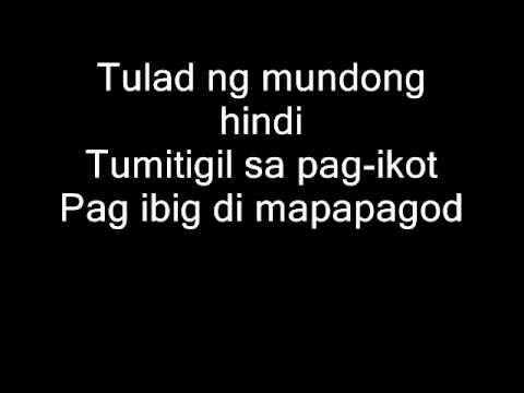 Magbalik by Callalily (lyrics)