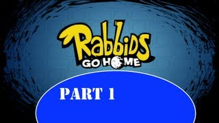 Rabbids Go Home Playthrough (1080p) Part 1 - Obnoxious thumbnail