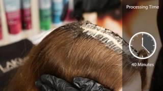 Профессиональное окрашивание волос краской Collage от LAKME