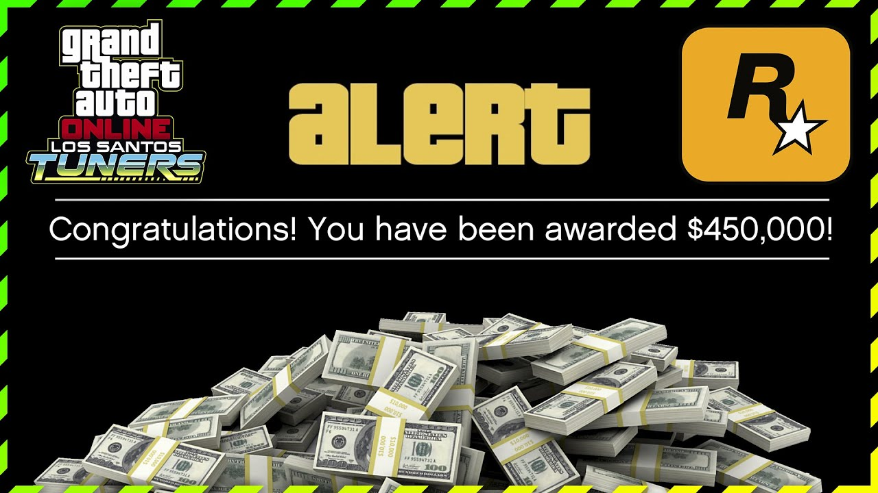 Rockstar Games Is Giving Away FREE MONEY $450,000 in GTA Online Just By Doing FEW SIMPLE THINGS