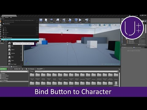 Unreal C++ | Bind Button to Character