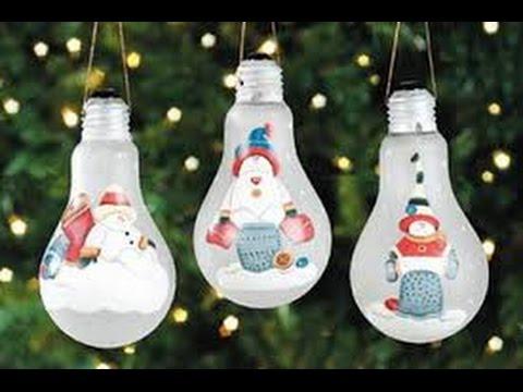 Adornos para el arbol de navidad 50 ideas diy youtube - Adornos para navidad ...