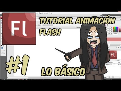 Tutorial de Animación Flash con Hagen - Ep 1 - Lo Básico