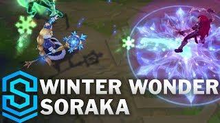 Winter Wonder Soraka Skin Spotlight - League of Legends