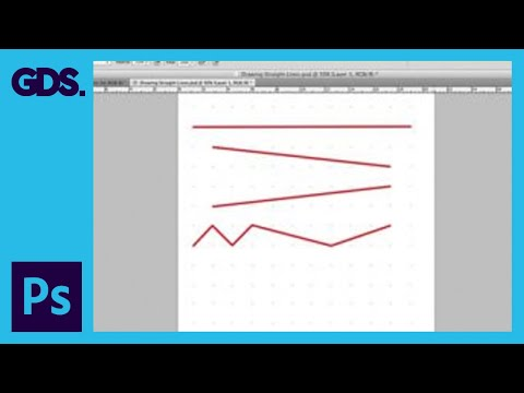 Draw Straight Lines In Adobe Photoshop