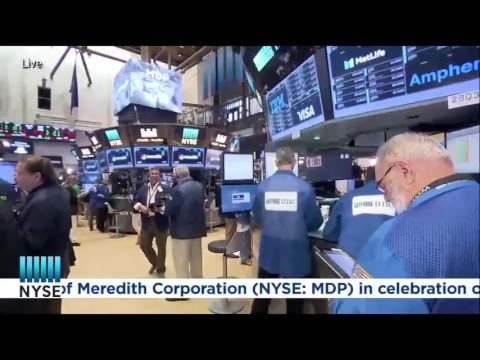 Meredith Corporation (NYSE: MDP) Rings The NYSE Opening Bell®
