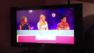 Caroline Flack on Celebrity Juice 26/04/12