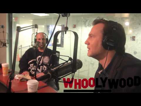 WALKING DEAD's DAVID MORRISSEY vs DJ WHOO KID on the WHOOLYWOOD SHUFFLE