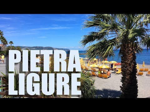 Weekend a Pietra Ligure (Liguria) Italia - DJI Mavic Pro