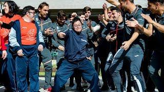El Juvenil A y Fundación Síndrome Down Castellón se lo pasan en grande