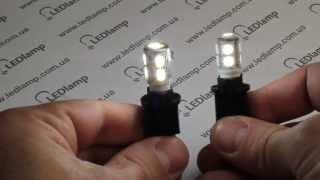 видео Светодиодная лампа T10-1SMD-5630