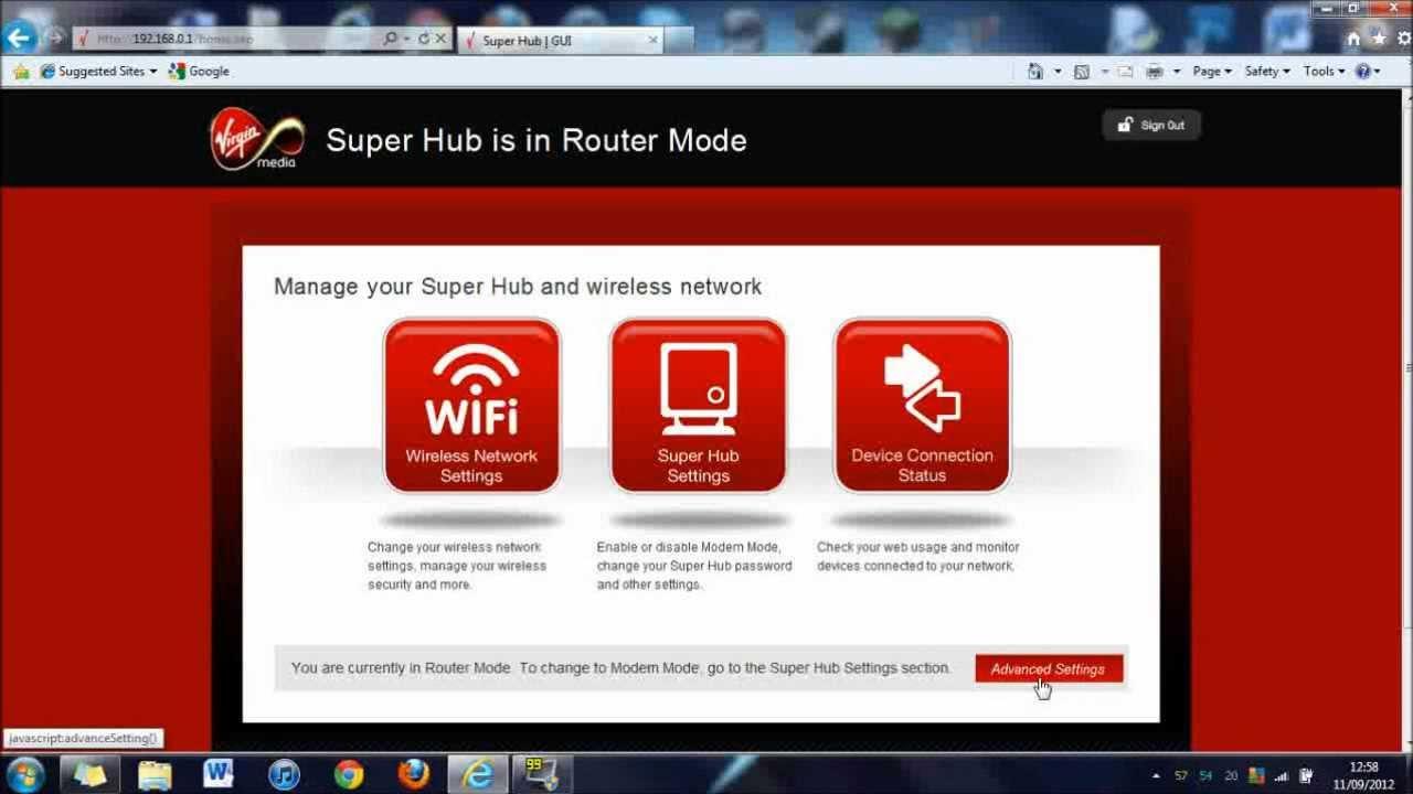 Firmware update request. Virgin media community.