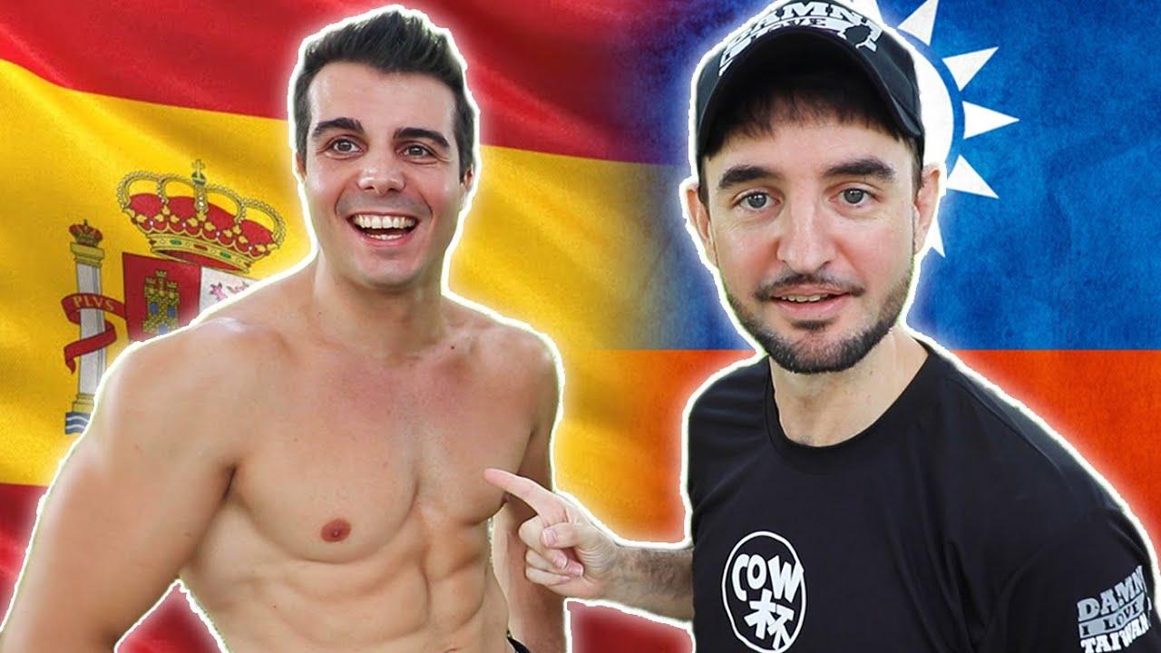 台灣人自信PK西班牙 Selfesteem Taiwanese VS Spain 🇹🇼VS🇪🇸 🔥 [COW杯]