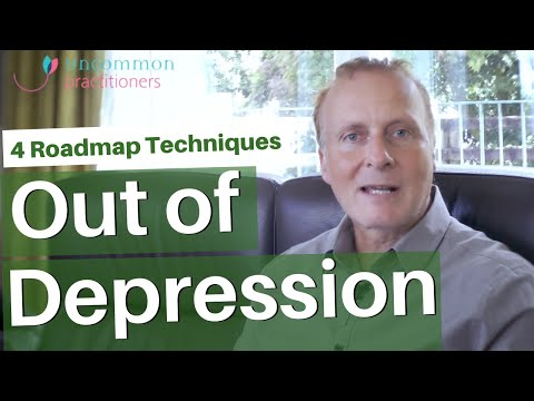 4 'Roadmap' Techniques Out of Depression