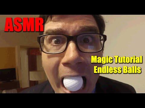 ASMR Magic Tutorial Endless Balls from Mouth
