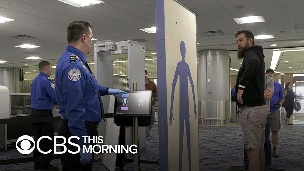 TSA testing advanced Airport Security Technology